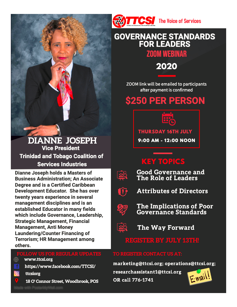Corporate Standards for Leaders Flyer